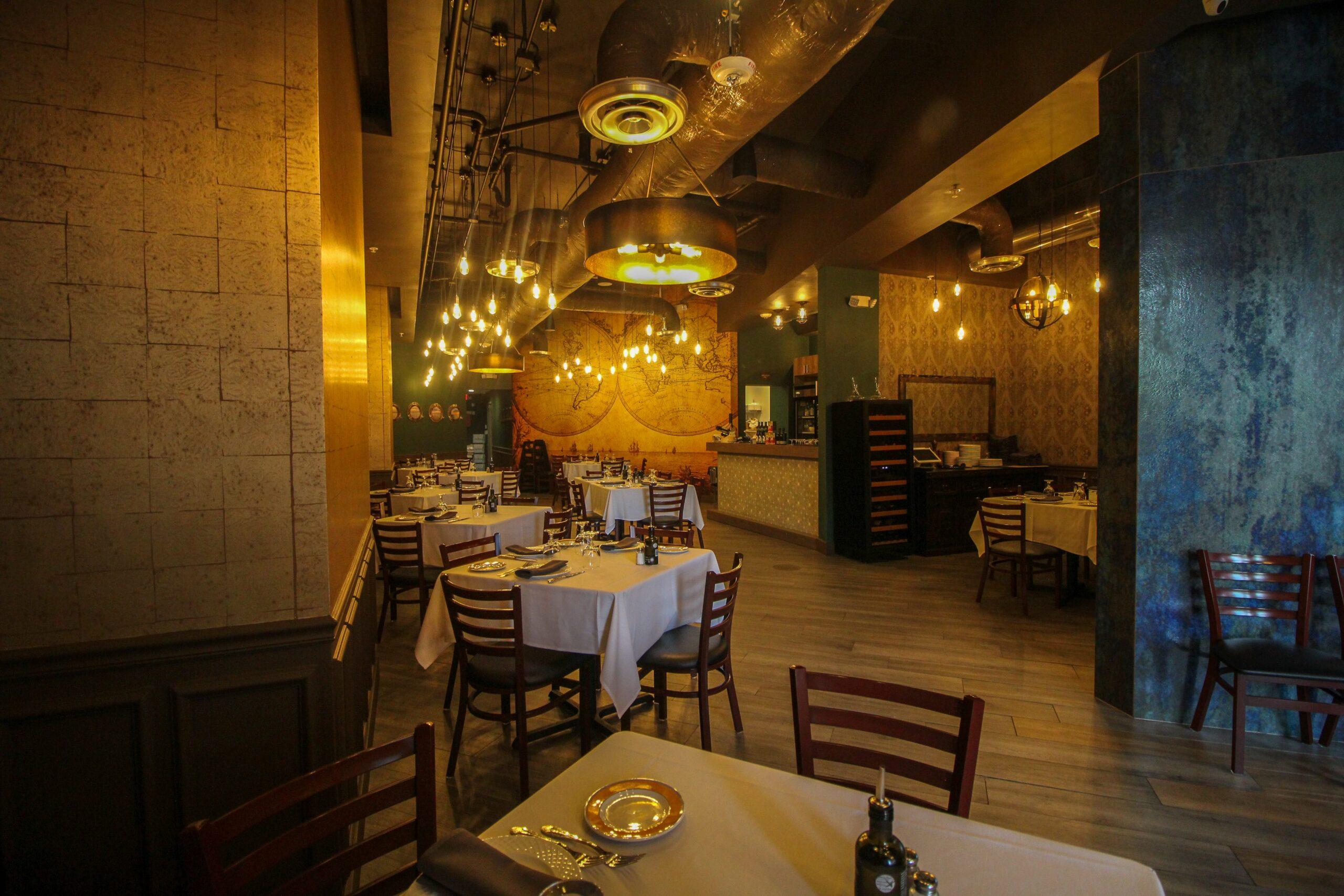 Portuguese restaurant interior design