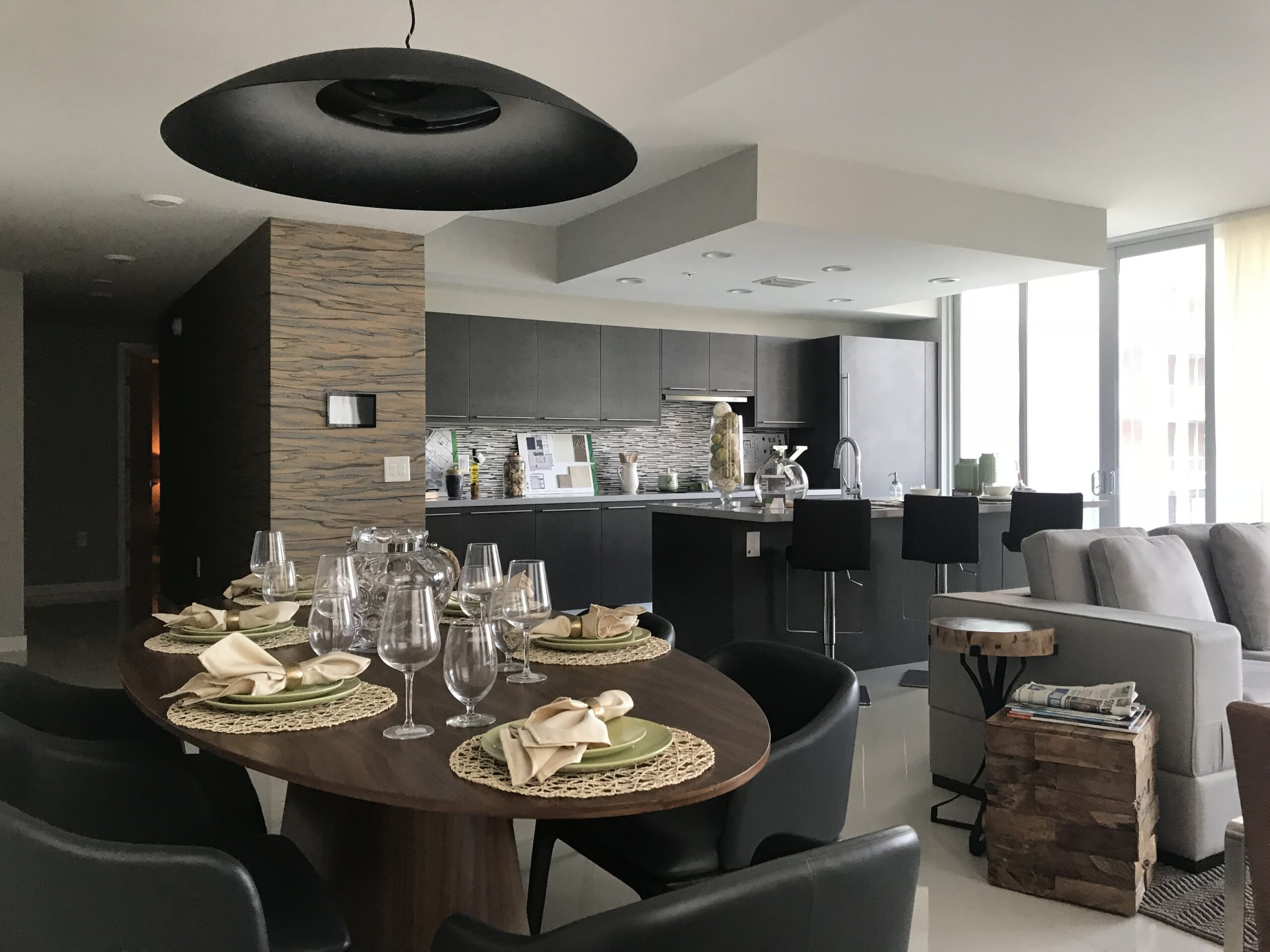 apartment interior design by kstudio