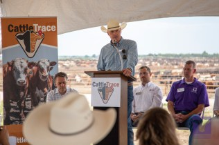 Matt Teagarden, CEO of the Kansas Livestock Association.
