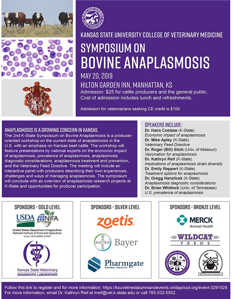Symposium on Bovine Anaplasmosis