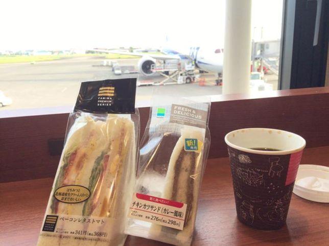 始発の飛行機で福岡日帰り出張
