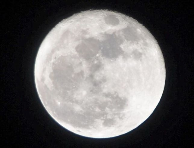 一日遅れの、Super Moon !
