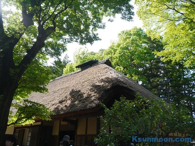 江戸東京たてもの園・アクセス・ジブリ・感想・ジブリ・撮影
