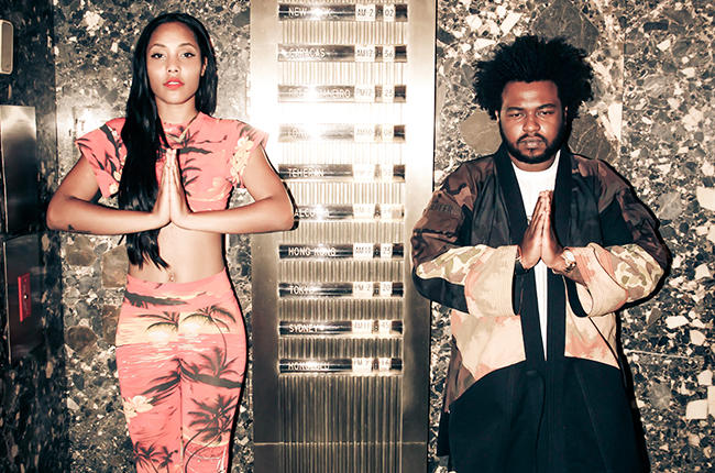 "India Shawn & James Fauntleroy release new EP entitled ""Outer Limits"""