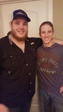 DJ Vining and Luke Combs