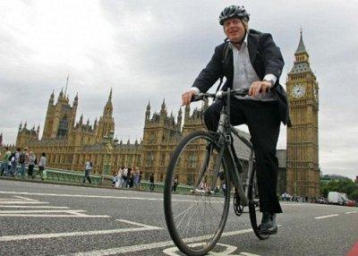 Мер Херсона на велосипеді