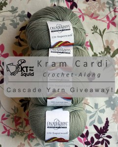 Kram Cardi CAL yarn giveaway