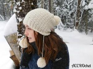 © ACCROchet Snow Angel hat by ACCROchet (crochet)