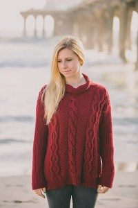 © jenniferknits Double Moss Cable Pullover by Jennifer Wenger-Turchen (knit)