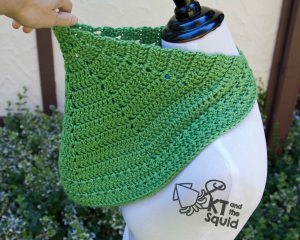 Haula Cowl Free Crochet Pattern   KT and the Squid