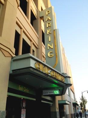 Alameda Cineplex Parking Structure
