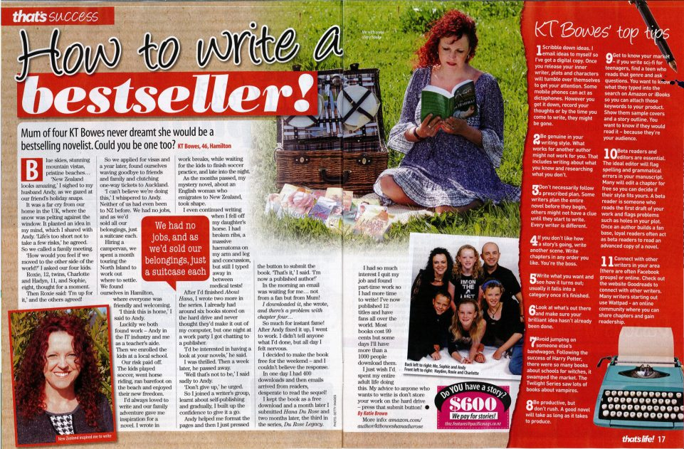 That's Life Magazine author interview