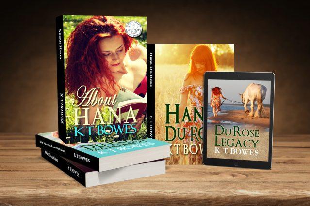 Hana Du Rose Series CoverVault version 5 books