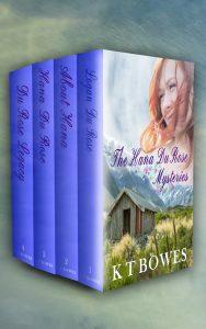hana du rose with background 4 book set