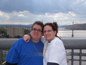 My sister an I at the 2011 Walk