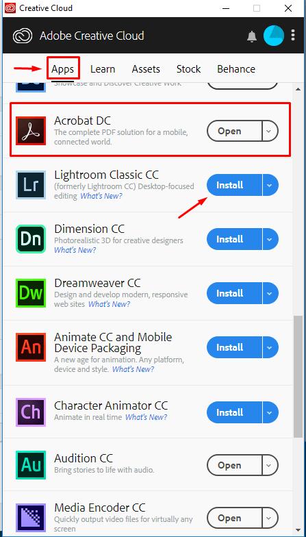 Adobe CC Installer