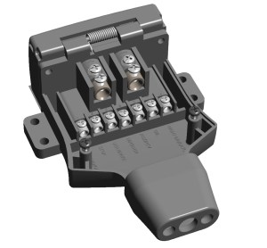 KT 9 Pin Trailer Plug & Sockets with 50Amp Power Connection | KT Blog