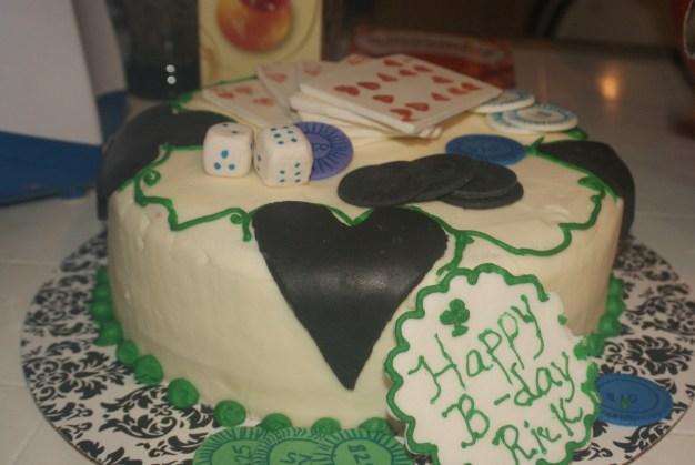 King of Poker Cake