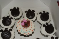 Bear and Paw Cupcake Toppers