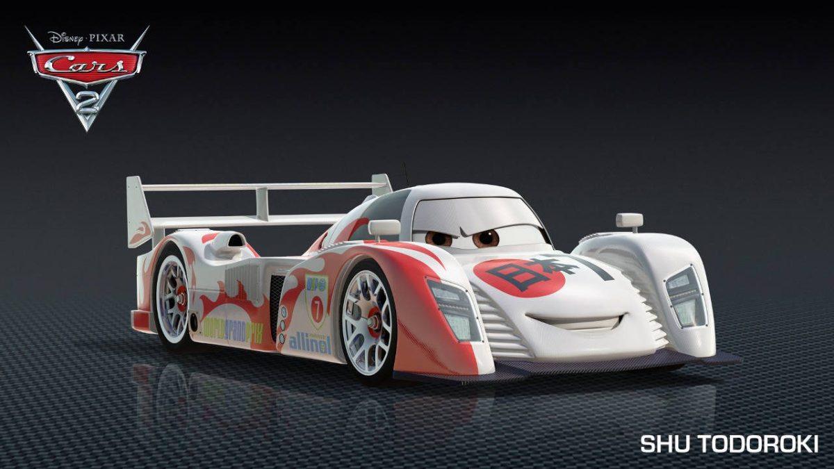 """CARS 2"" Shu Todoroki ©Disney/Pixar. All Rights Reserved."