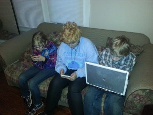 kids on internet devices