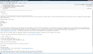 Nominet's initial complaint, case 1595487