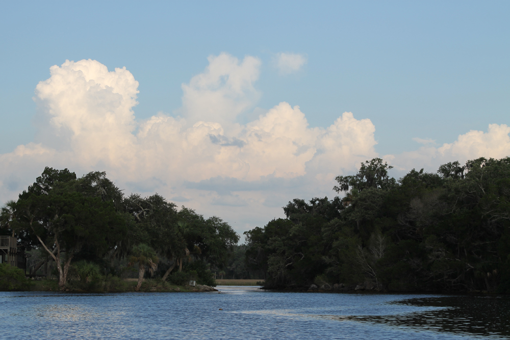 Clouds over Mason Creek