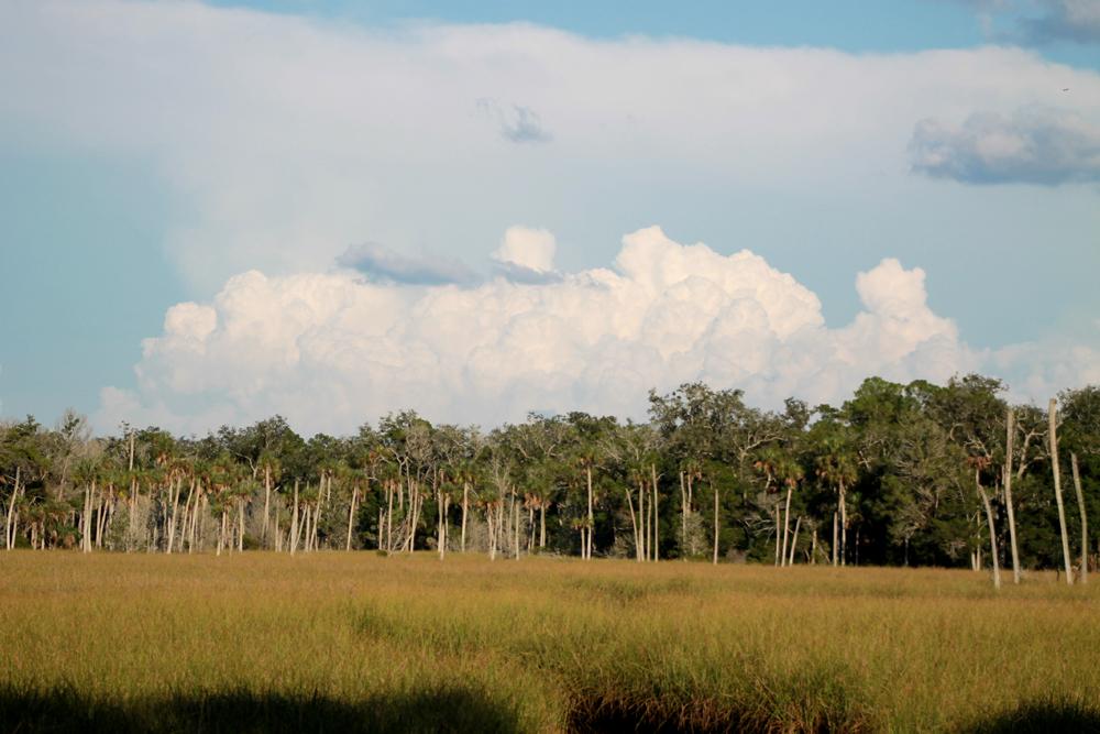 Clouds over Chassahowitzka Nature Preserve