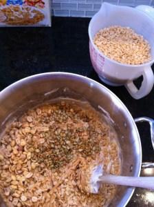 Adventures in the Kitchen with Michelle, Peanut Butter Rice Krispie Treats