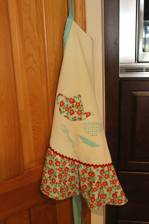 DIY Apron with Moda Fabrics