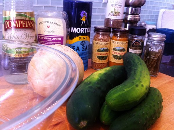 Adventures in the Kitchen with Michelle, Pickles!