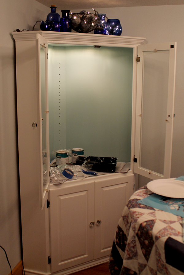 The Music Room Reno Continues, China Cabinet Update