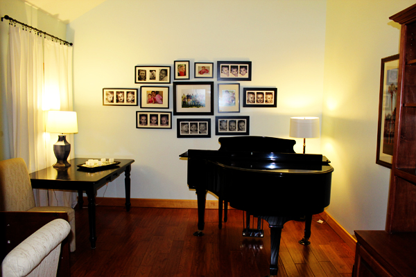 My former office/piano room/sewing room