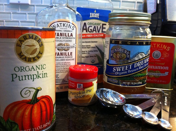 Adventures in the Kitchen with Michelle, Ingredients for Pumpkin Spiced Latte Syrup