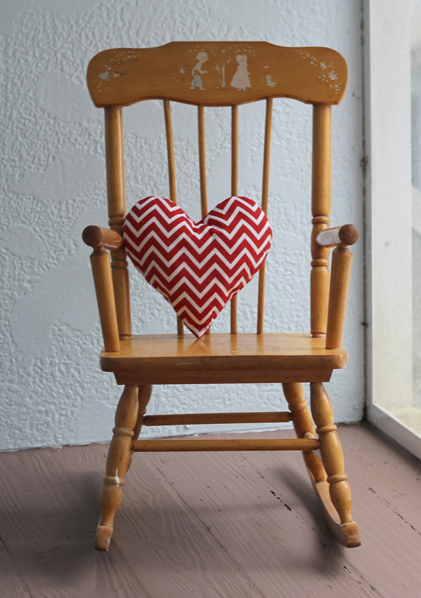 DIY Heart Pillows