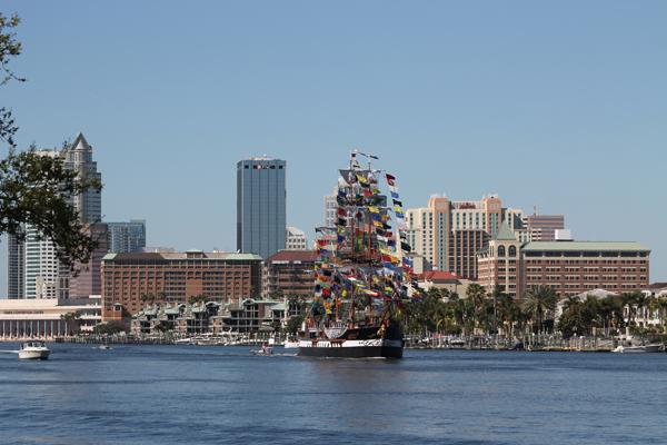 Jose Gasparilla Pirate Ship
