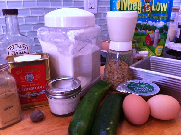 Step 1, Michelle's Yogurt-Zucchini Bread : Gluten-Free