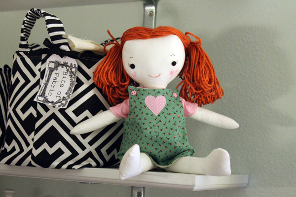 From Wee Wonderful Doll Pattern