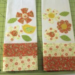 DIY Tea Towels with Moda Fabrics