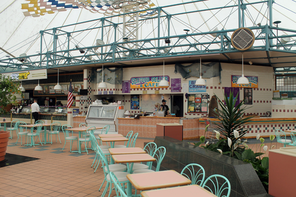 Food Court at Crystal River Mall