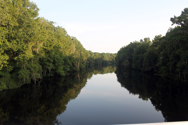 View from Bridge of Withlacoochee River
