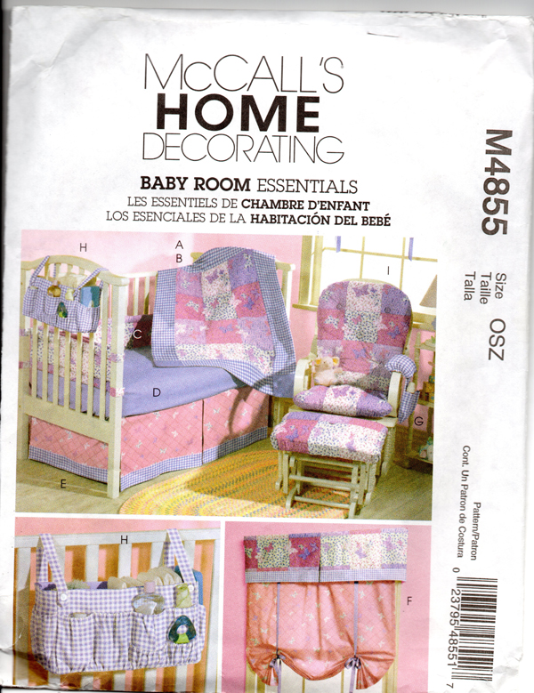 Pattern for Baby Bedding