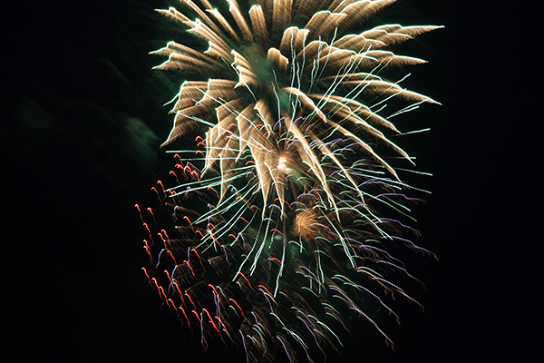 Fireworks in Crystal River