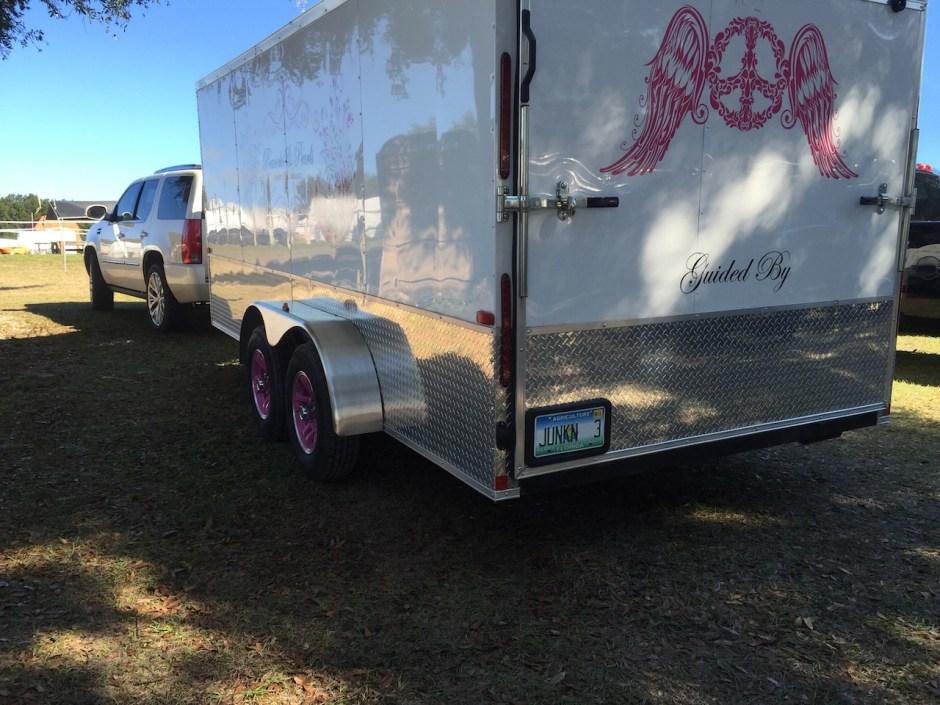 Pink wheels?