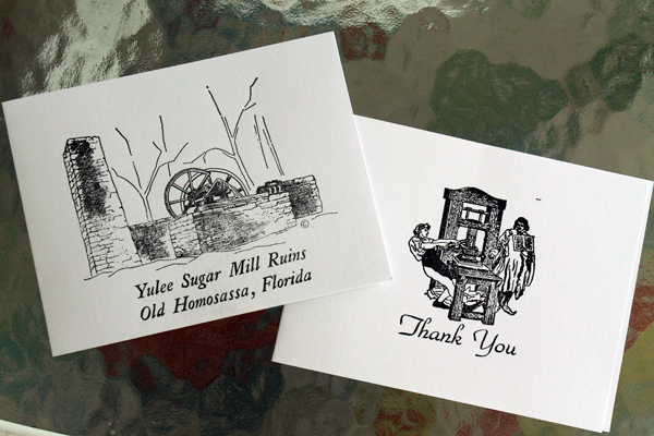 notecards from Olde Mill House Gallery & Cafe