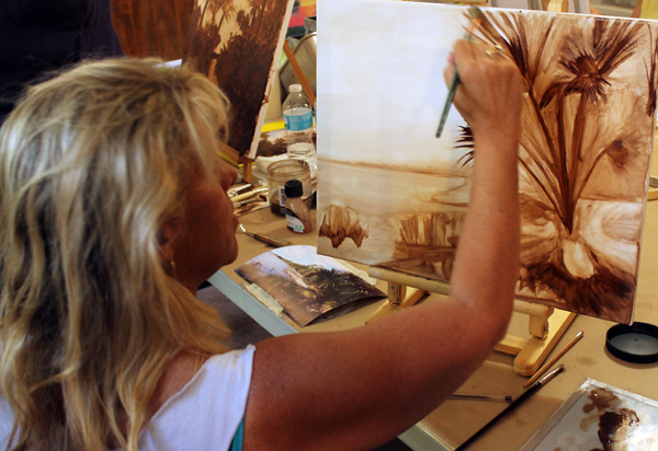 Oil Painting Workshop at Watson's Art Gallery at Watson's Art Gallery