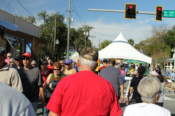 Manatee Festival in Crystal River