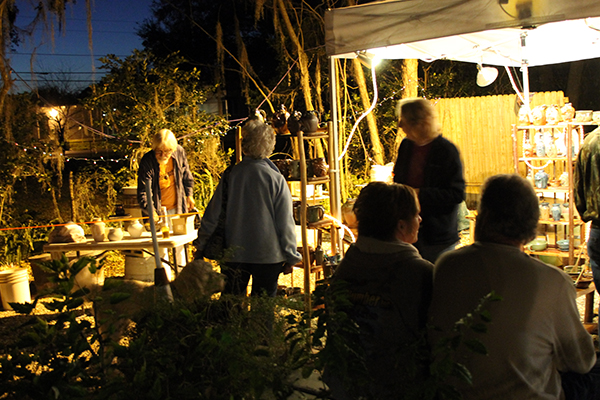 16th Luminary Art Walk of Old Homosassa