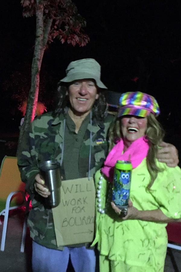 That's our best hippie friend Robbie!
