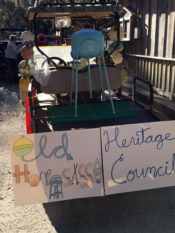 OHHC golf cart